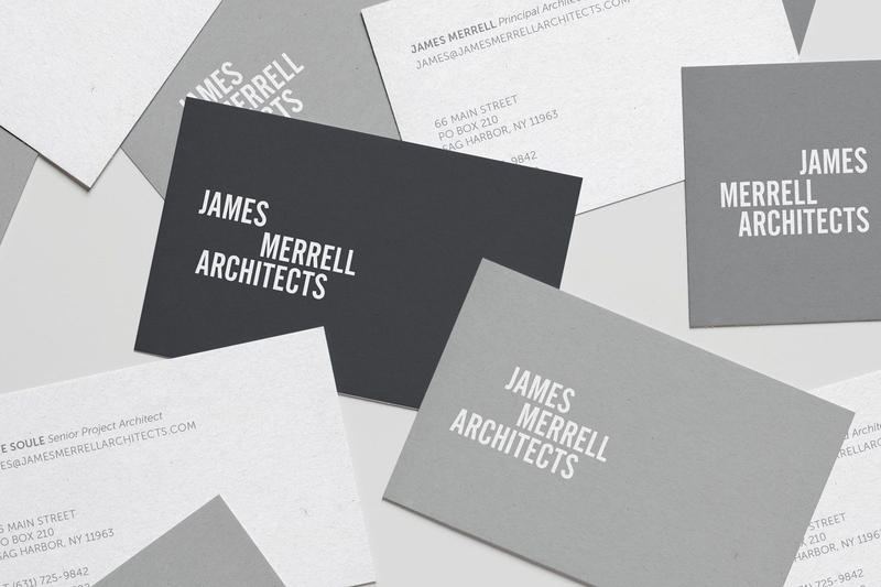 Graphic and Website Design for James Merrell Architects
