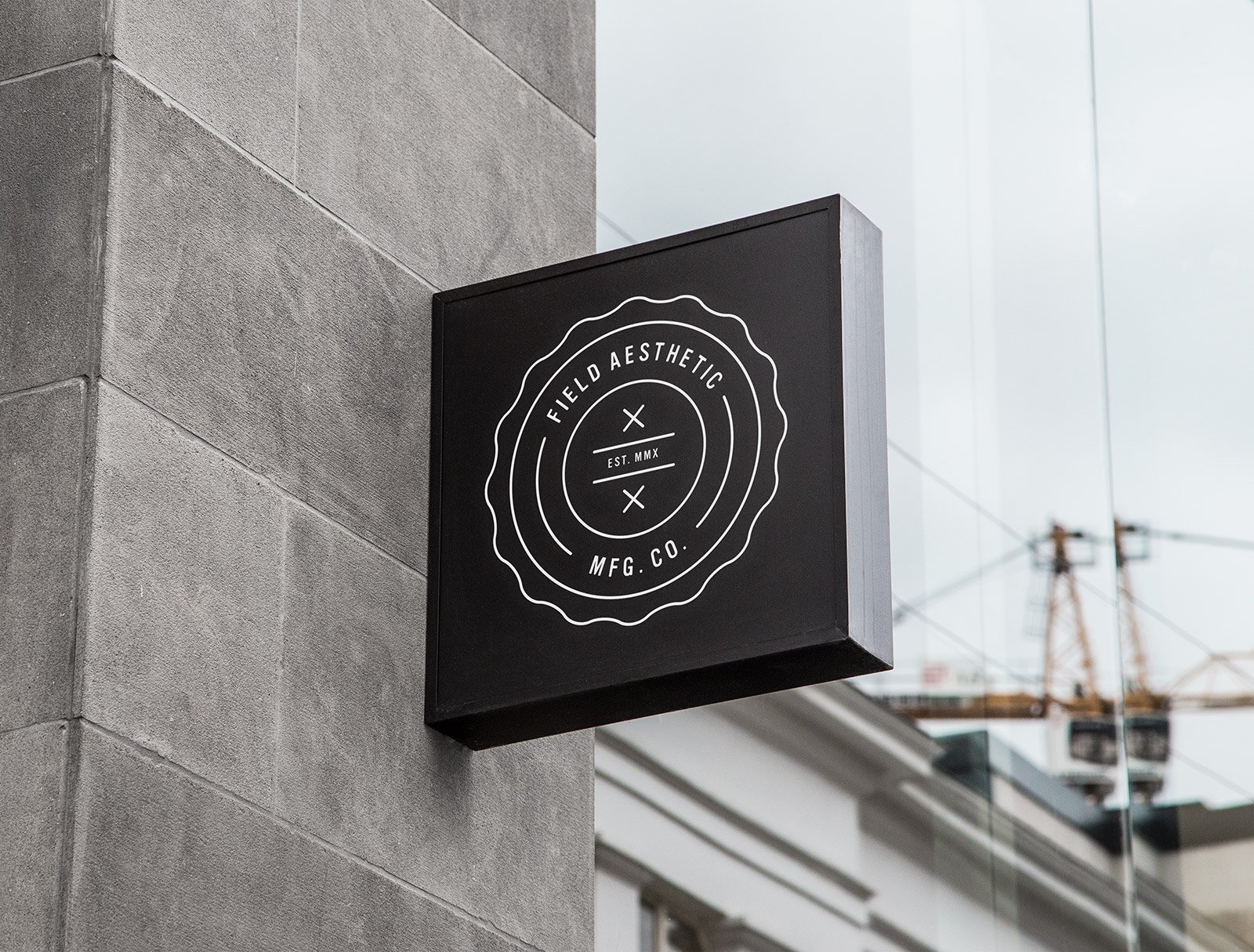 Branding and Signage for Lifestyle Brand