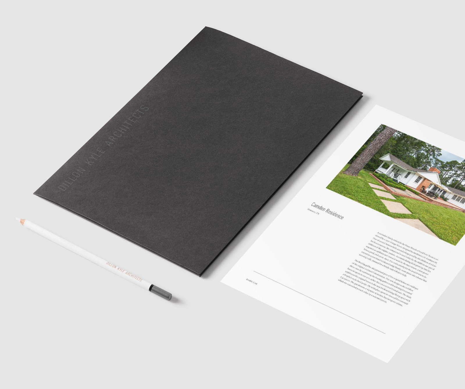 Architect Marketing Materials