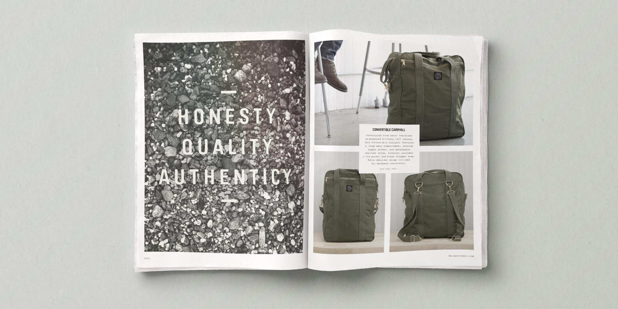 Editorial Design for Lifestyle Brand