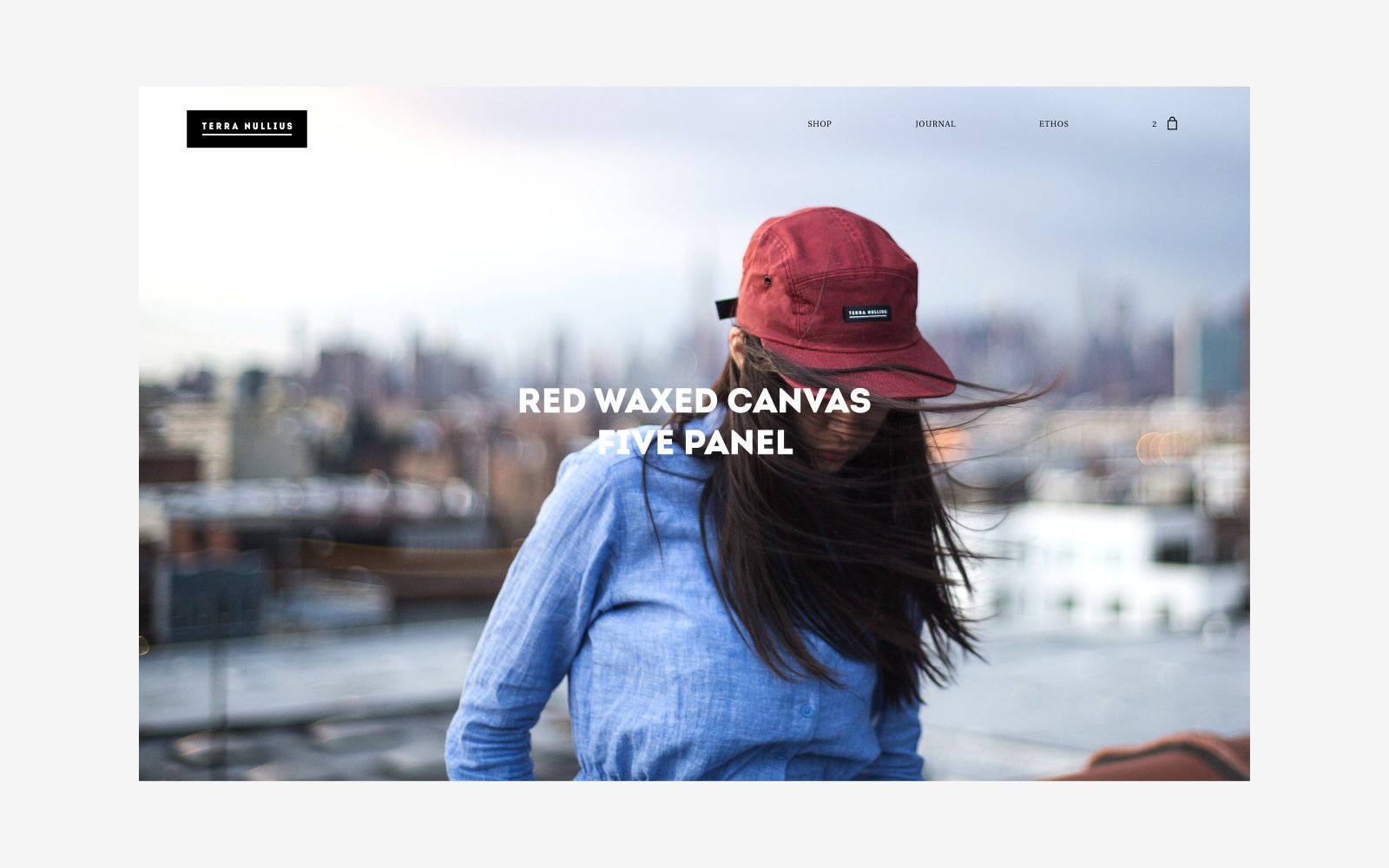 Ecommerce Web Design for Brooklyn NY Lifestyle Brand