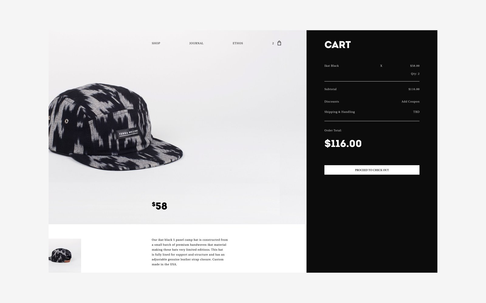 Ecommerce Web Design for Brooklyn NY Lifestyle Brand.jpg