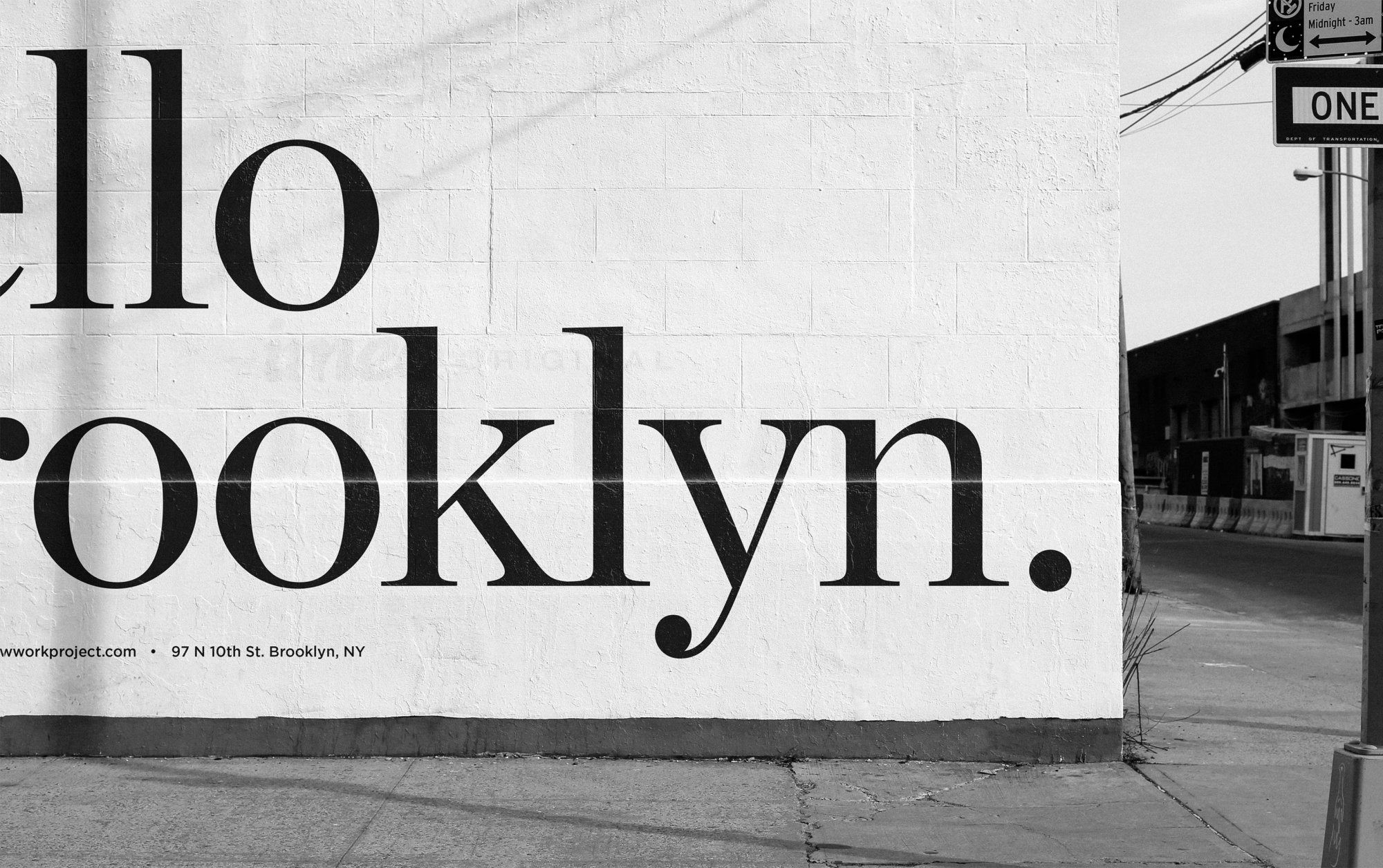 Ad Campaign Design for Coworking Space in Brooklyn