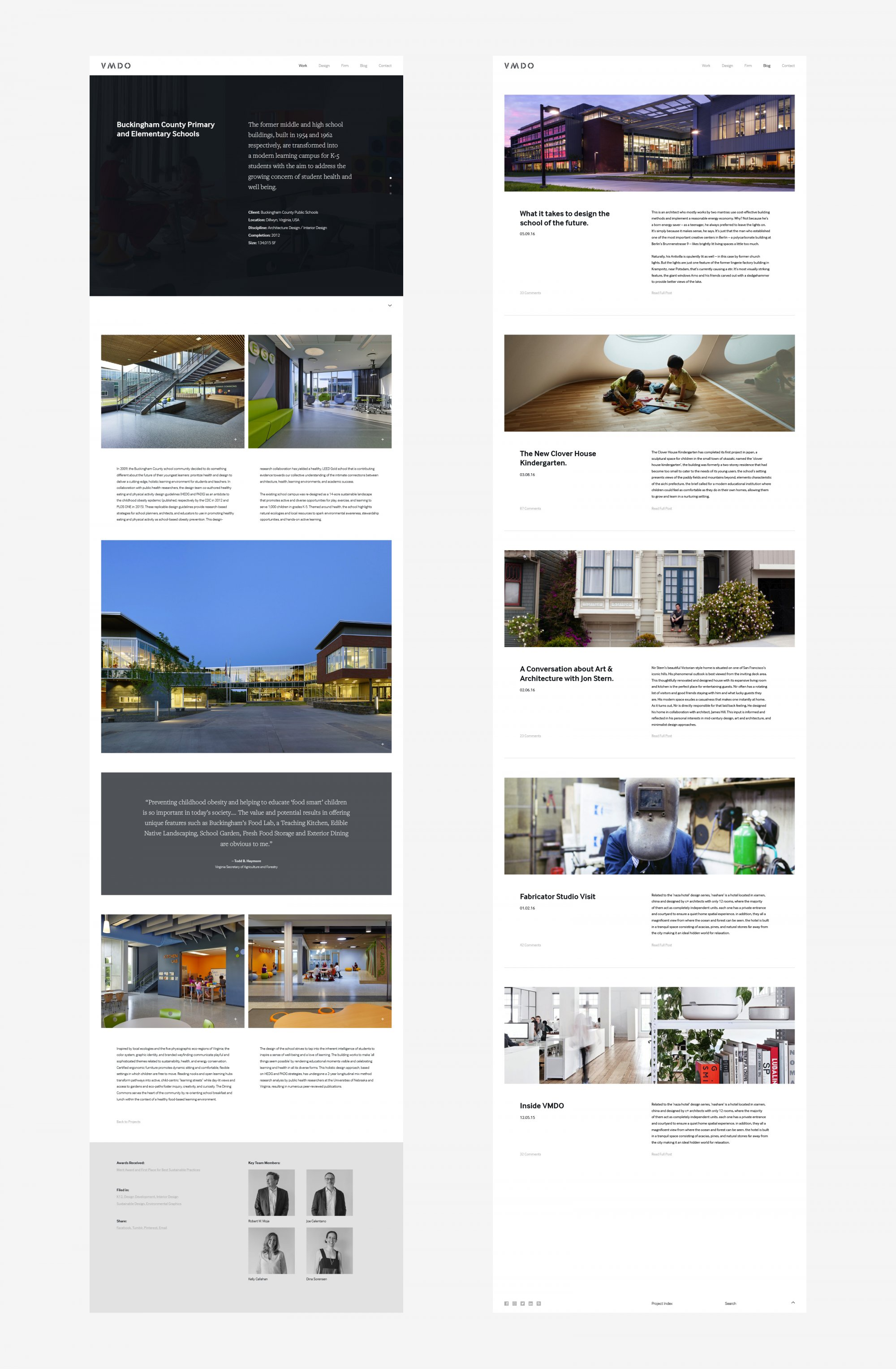 Architecture Firm Portfolio Web Design
